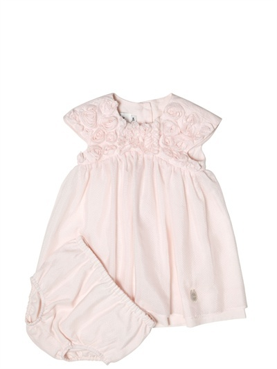 Christian Dior Silk Voile Rose Dress With Culottes