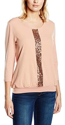 Betty Barclay Women's 3/4 Sleeve T-Shirt Red Rot (Dusty Coral 3246)