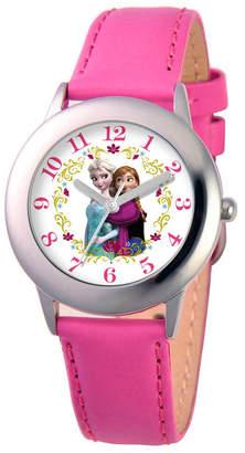 EWatchFactory Disney Frozen Elsa & Anna Girl Stainless Steel Watch