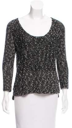 Helmut Lang HELMUT Scoop Neck Sweater
