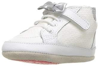 Robeez Girls' High Top Sneaker-Mini Shoez Crib Shoe