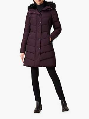 Lilian Puffer Jacket, Aubergine