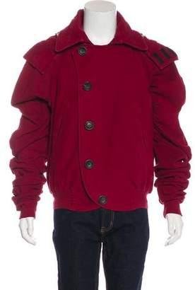 John Galliano Hooded Bomber Jacket