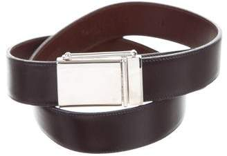 Calvin Klein Collection Leather Buckle Belt