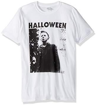 American Classics Halloween The Movie Watching Big Adult Short Sleeve T-Shirt