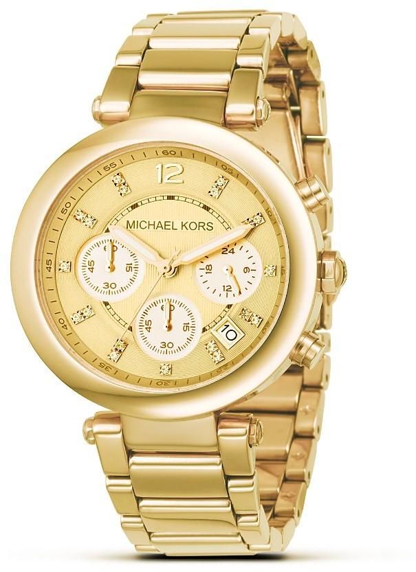 MICHAEL Michael Kors Stainless Steel Chronograph Watch, 39 mm