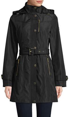 MICHAEL Michael Kors Belted Soft Shell Jacket