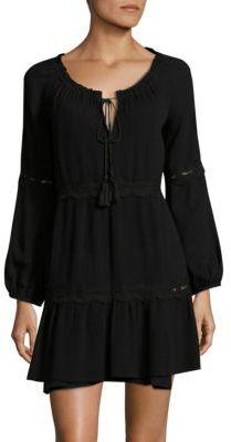 LSpace Moondust Lace-Trimmed Dress $129 thestylecure.com
