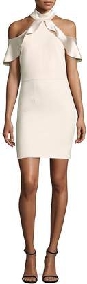 Alice + Olivia Women's Ebony Cold Shoulder Dress