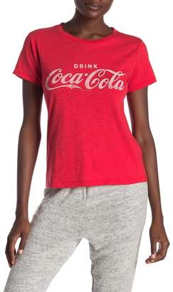 Lucky Brand Coca Cola Crew Neck Graphic Tee