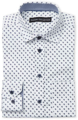 Report Collection Boys 8-20) Leaf Dress Shirt