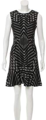 Diane von Furstenberg Sleeveless Printed Mini Dress