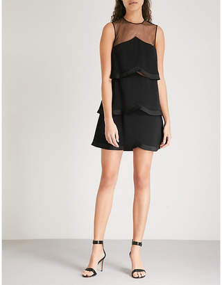 Stella McCartney Scalloped woven dress