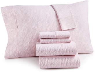 Sunham Closeout! Sorrento Print 500 Thread Count 6-Pc. California King Sheet Set Bedding