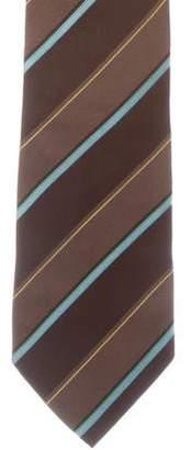 Salvatore Ferragamo Striped Silk Tie