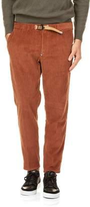 White Sand Velvet Chino Pants