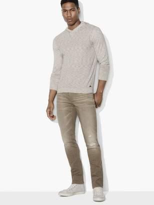 John Varvatos Space-Dyed Pullover Hoodie