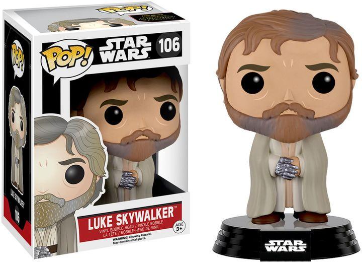 Funko POP! Star Wars Episode 7 Bearded Luke Skywalker Figurine