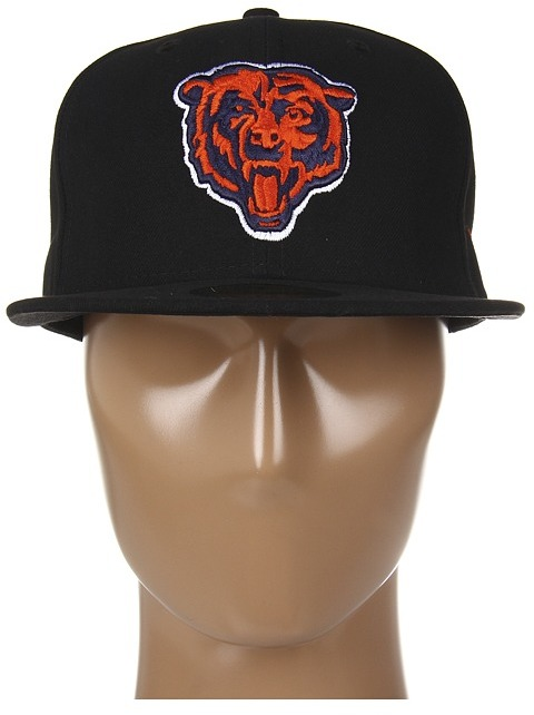 New Era Chicago Bears NFL® Black Team 59FIFTY®
