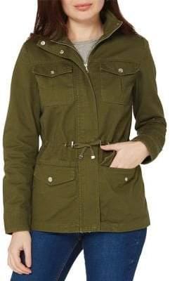 Dorothy Perkins Zip Collar Field Jacket