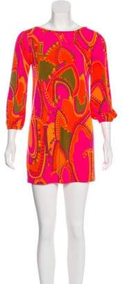 Tibi Jersey Print Dress