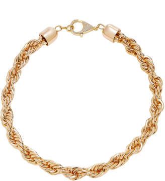 Fallon Gold-Tone Twisted Chain Choker