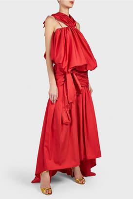 Rosie Assoulin Tri-Tie Wrap Skirt