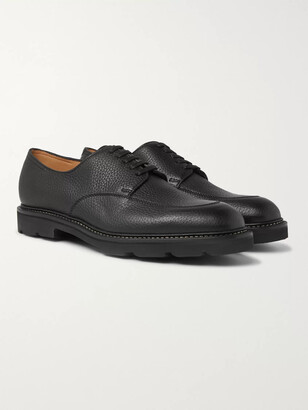 John Lobb Sentry Pebble-Grain Leather Derby Shoes
