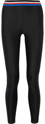 P.E Nation Hell Fire Printed Stretch Leggings - Black