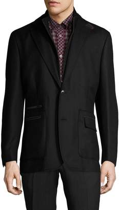 Kroon Men's P. Funk Wool Notch Lapel Blazer