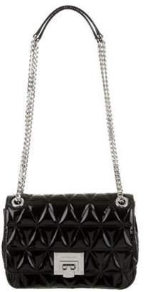 Michael Kors Patent Leather Shoulder Bag Black Patent Leather Shoulder Bag