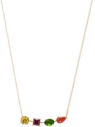 Ileana Makri Multi Shape Branch Necklace