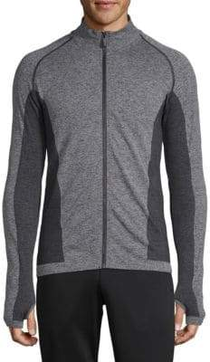 Cross Z Seamless Full-Zip Top