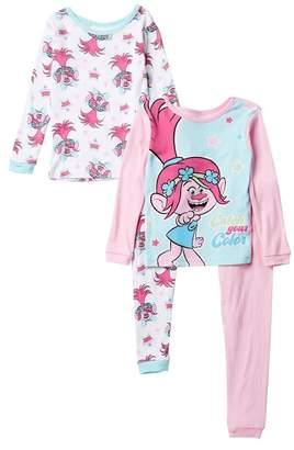 AME Trolls Poppy Cotton PJs - Set of 2 (Little Girls & Big Girls)