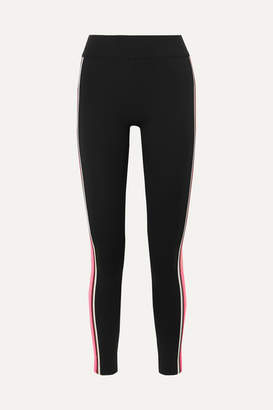NO KA 'OI NO KA'OI - Kanawi Striped Stretch Leggings - Black