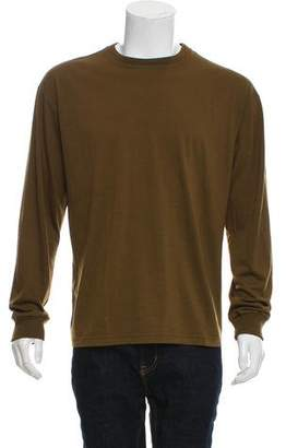 Gianni Versace Vintage Silk Crew Neck Sweater