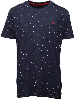 Farah Jeans Junior Boys AOP T-Shirt Navy