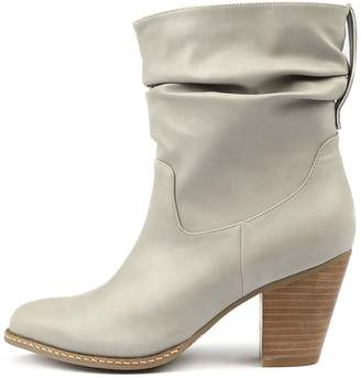 I Love Billy Celia Grey Boots Womens Shoes Ankle Boots