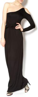 Double Zero Black Grecian Maxi