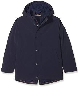 Tommy Hilfiger Tommy Boy's Coated Parka Jacket,(Size: 3)