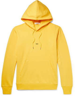 Helmut Lang Taxi Loopback Cotton-Jersey Hoodie