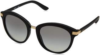 DKNY Women's Injected Woman Round Sunglasses