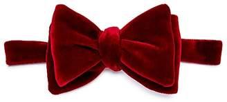 Turnbull & Asser Velvet Bow Tie