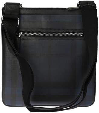 Burberry Black Checked Crossbody Bag