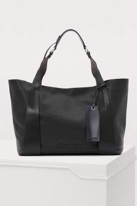 Miu Miu Leather GM tote bag