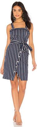 J.o.a. Stud Detail Overlap Dress