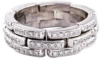 Ring Furrur Jacot 18K Diamond Flexible Chain Band
