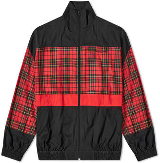 Balenciaga Poplin Check Retro Panel Wind Jacket