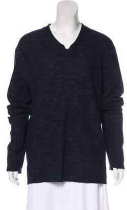 Vince Rib Knit V-Neck Sweater