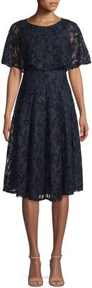 Gabby Skye Lace Knee-Length Dress